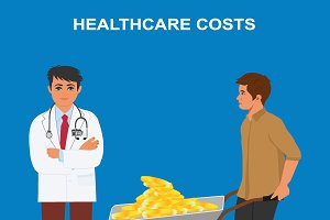High healthcare costs, expensive