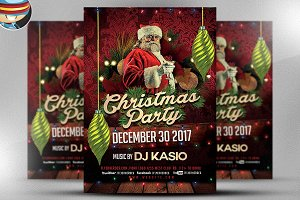 Christmas Flyer Template v3