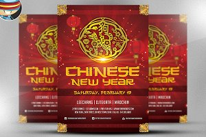 Chinese New Year Flyer Template v1