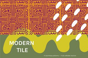 Modern Tile | Seamless Patterns