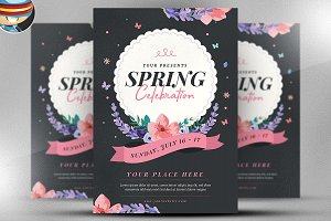 Spring Celebration Flyer Template v2
