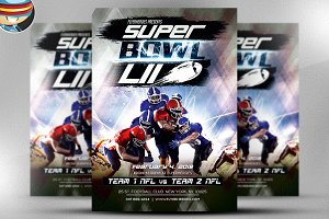 Superbowl Flyer Template v2