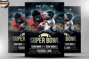 Superbowl Flyer Template v3