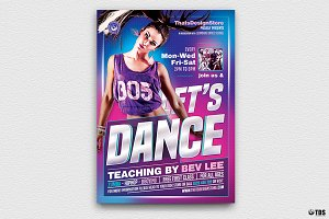 Dance Classes Flyer Template V1