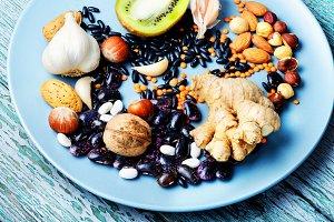 Health food concept