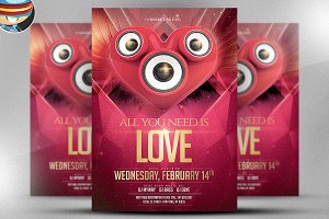 Valentine Flyer Template v3
