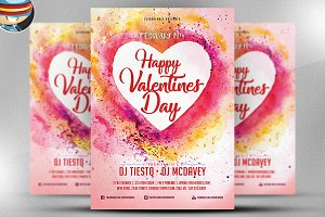 Valentine Flyer Template v2