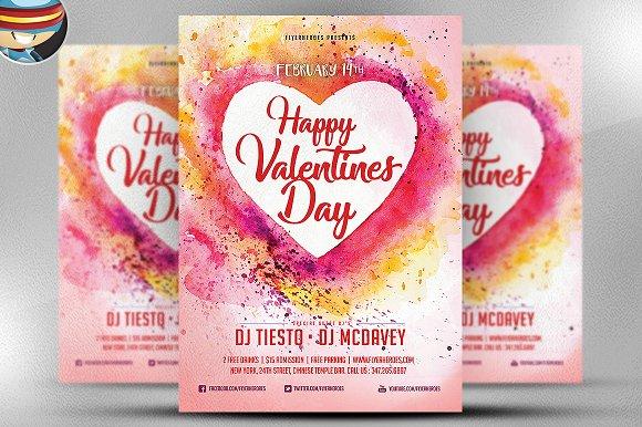 Valentine Flyer Template V2