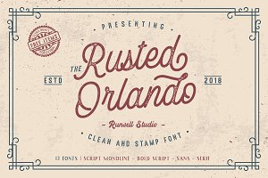 Rusted Orlando + Extras (30% OFF)