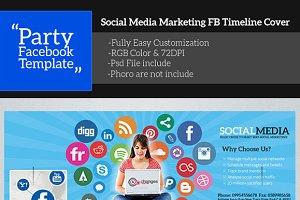 Social Media Facebook Timeline Cover