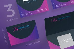 Business Cards | Gym Training