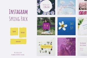 Instagram Spring Pack