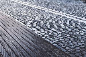 Cobble Stone Pavement Texture