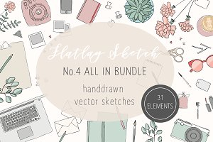 Illustrated Flatlay/Scene Creator N4