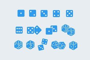 15 Dice Icons