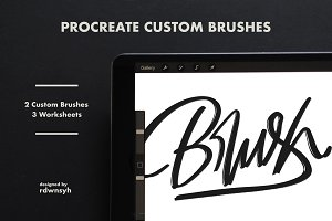 Procreate Custom Brushes