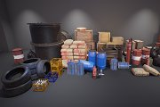Industry Props Pack