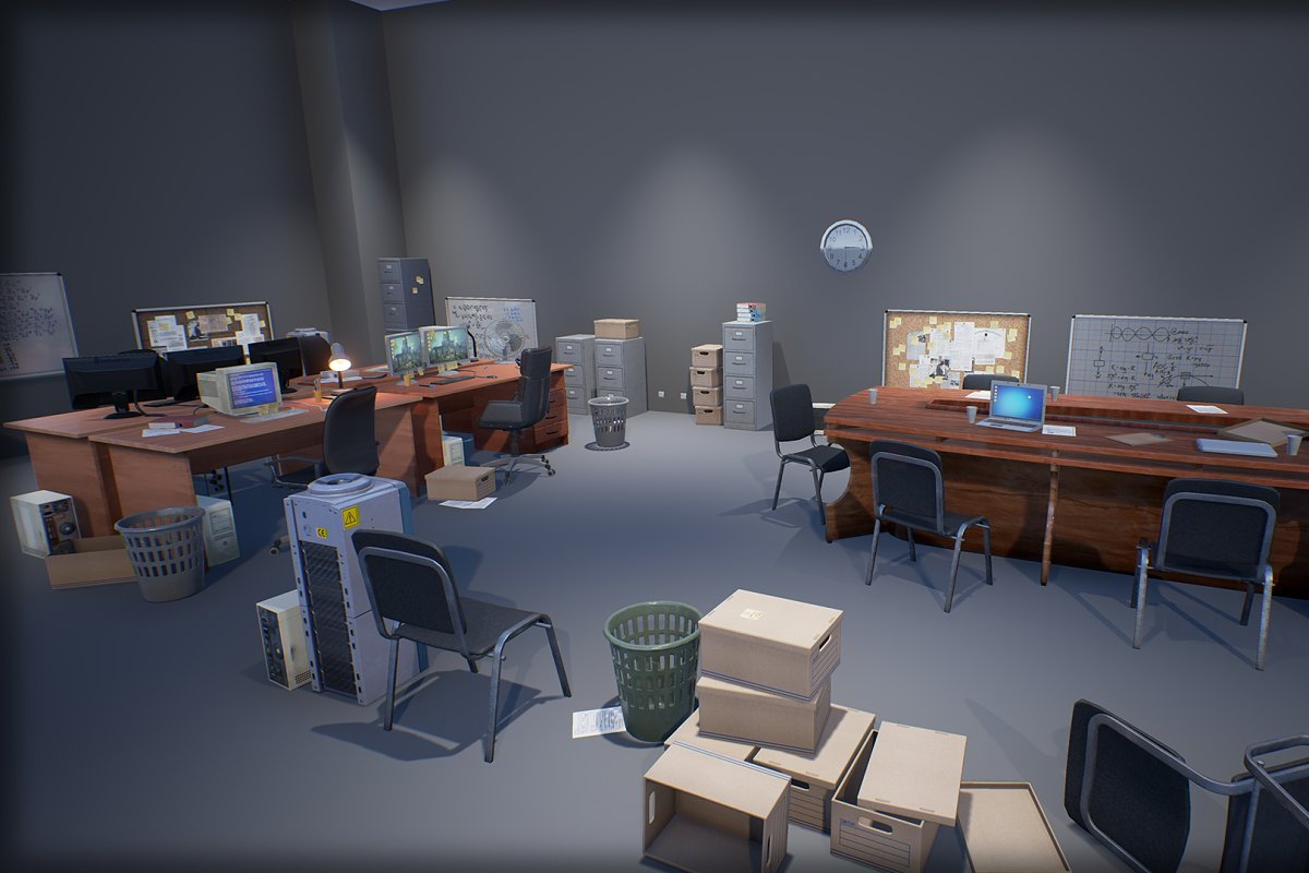 Industry Props Pack 3 in Furniture - product preview 8