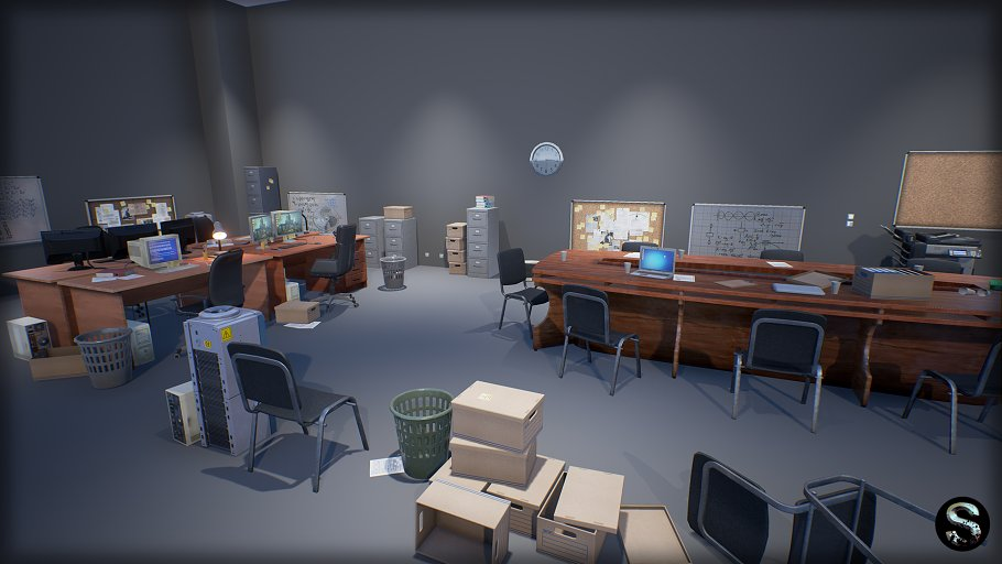 Industry Props Pack 3 in Furniture