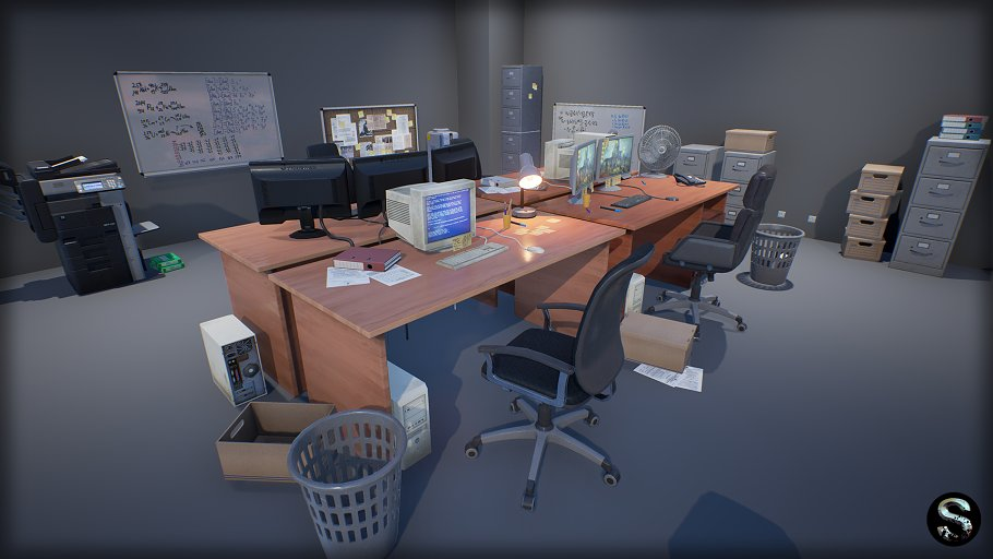Industry Props Pack 3 in Furniture - product preview 1