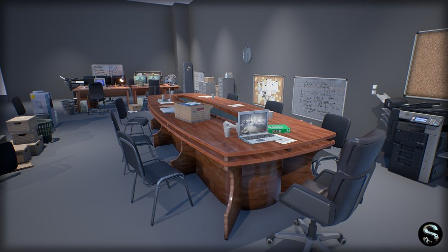 Industry Props Pack 3 in Furniture - product preview 3