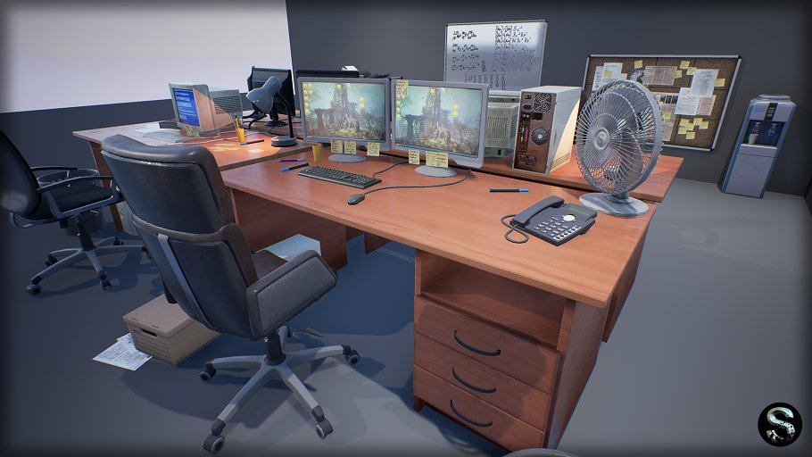 Industry Props Pack 3 in Furniture - product preview 4