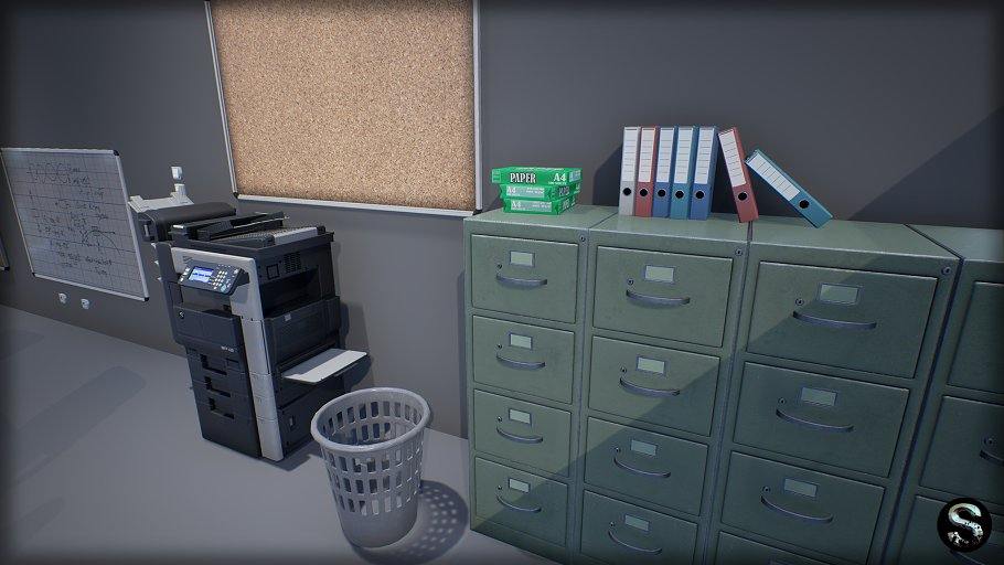 Industry Props Pack 3 in Furniture - product preview 5