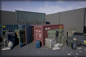 Industry Props Pack 4