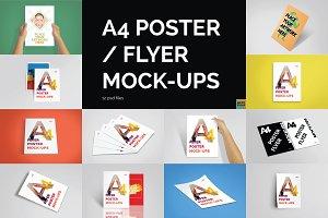 A4 Poster / Flyer Mockups