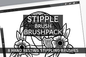 Stipple Brush Brushpack - Procreate