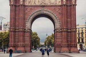 Arc de Triomf of Barcelona