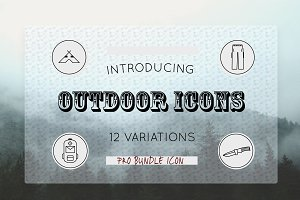 Outdoor Pro Icons Bundle