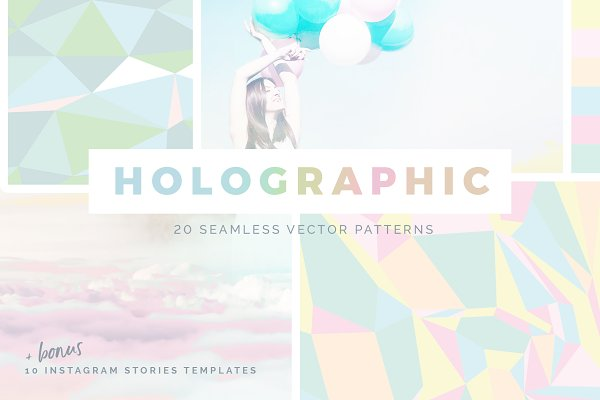 Holographic Patterns + Templates Se…