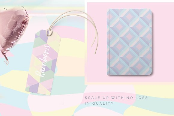 Holographic Patterns + Templates Set in Patterns - product preview 1