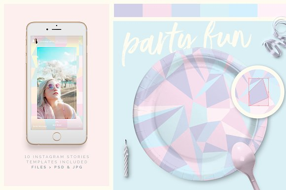 Holographic Patterns + Templates Set in Patterns - product preview 2