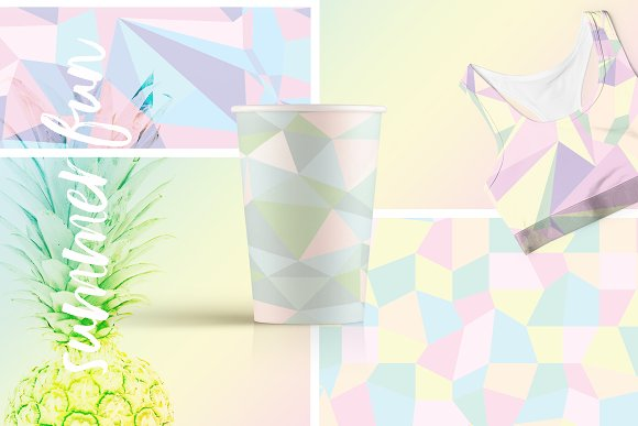 Holographic Patterns + Templates Set in Patterns - product preview 4