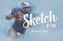 sketch effect