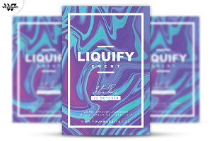 LIQUIFY Flyer Template