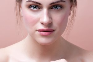 Beauty Woman face Portrait. Beautifu