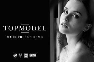 Top Model - Model WordPress Theme