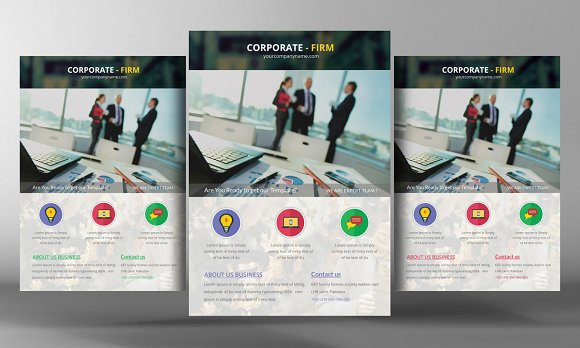 Promotional Corporate Flyer