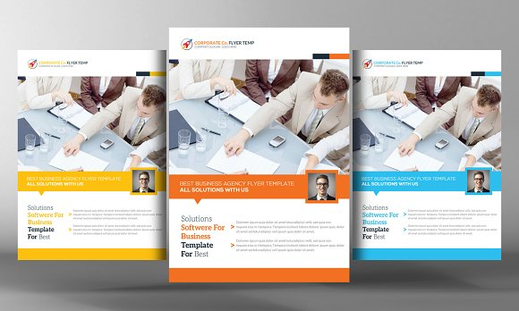 Corporate Lawyer Flyer Multi Colors