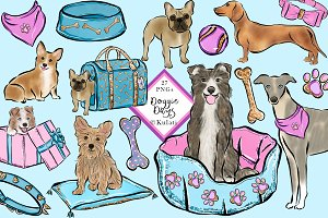 Dog Clipart / Dog Graphics