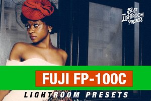 FUJI FP-100C inspired presets