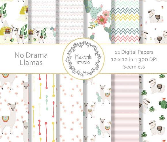 Llama Digital Paper
