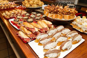 Spanish tapas of the Basque country