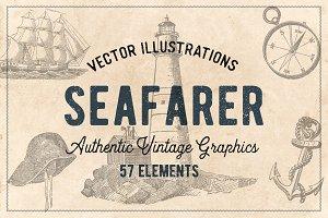 57 Vintage Nautical Illustrations