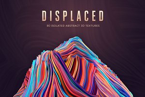 Displaced: 80 Isolated 3D Shapes