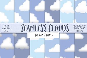 Seamless cloud patterns