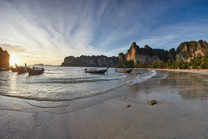 Landscape view on the sia and Railay